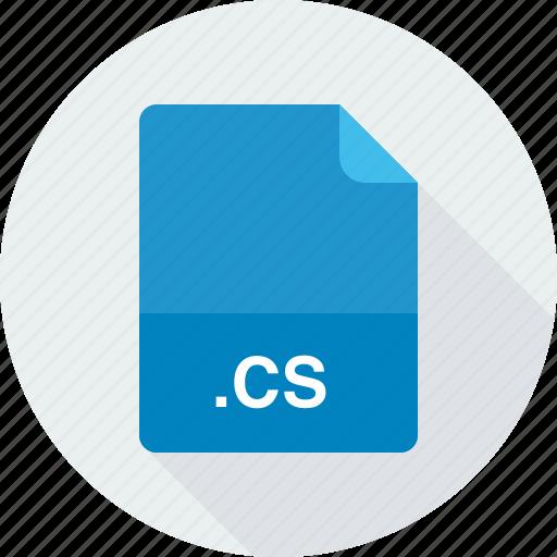 cs, visual c# source code file icon
