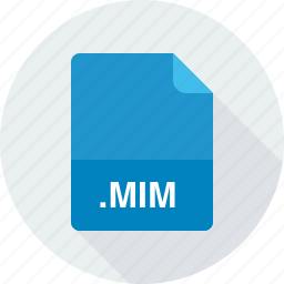 mim, multi-purpose internet mail message file icon
