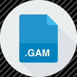 gam, saved game file icon