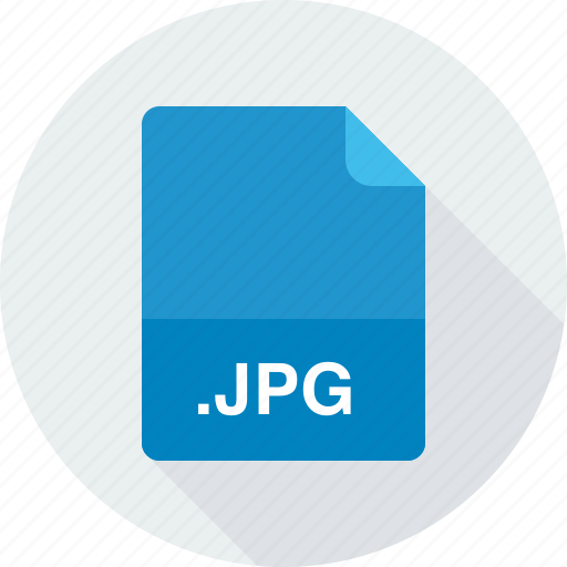 jpeg image, jpg, raster image files icon