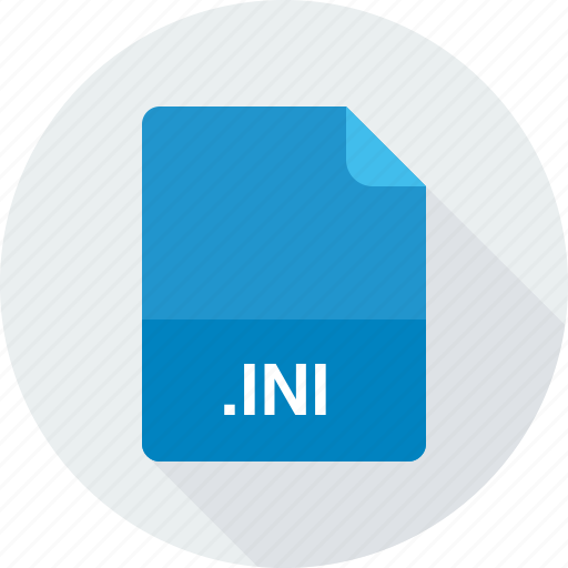 ini, windows initialization file icon