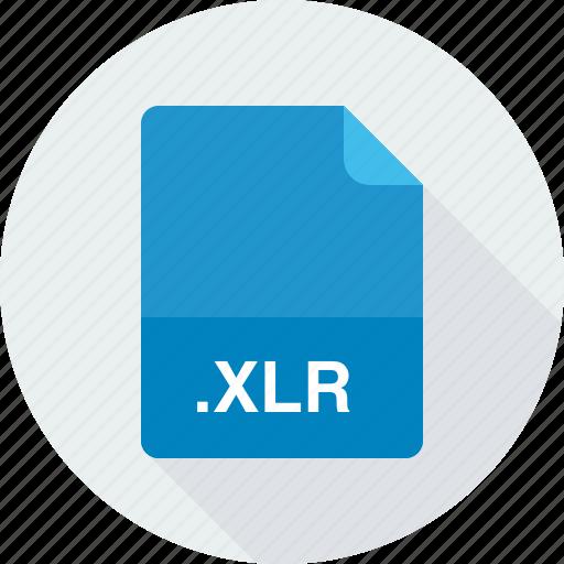 works spreadsheet, xlr icon