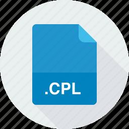 cpl, windows control panel item icon