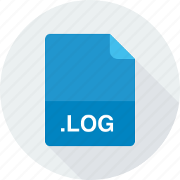log, log file icon
