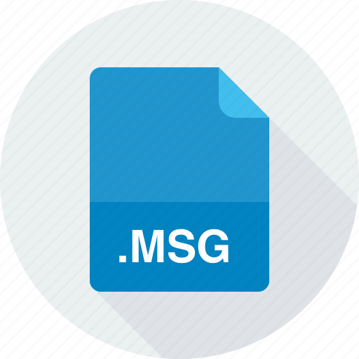msg, outlook mail message icon