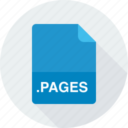 pages, pages document icon