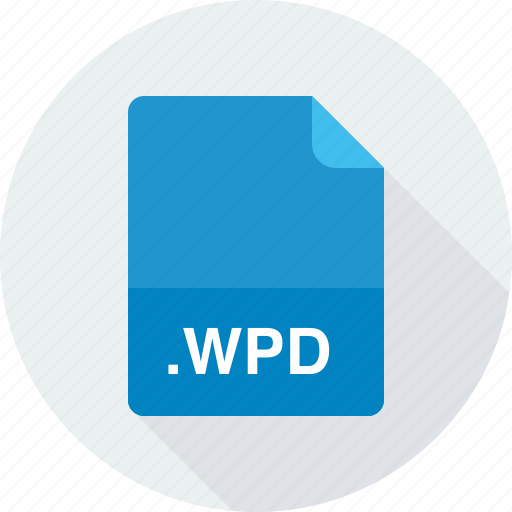wordperfect document, wpd icon