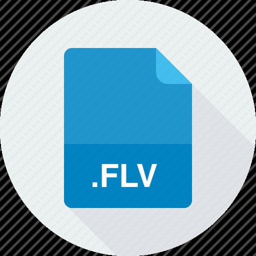 flash video file, flv icon