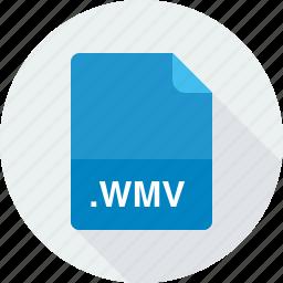 windows media video file, wmv icon