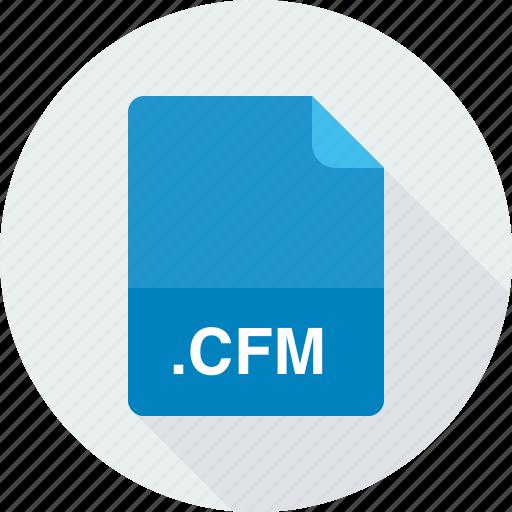 cfm, coldfusion markup file icon