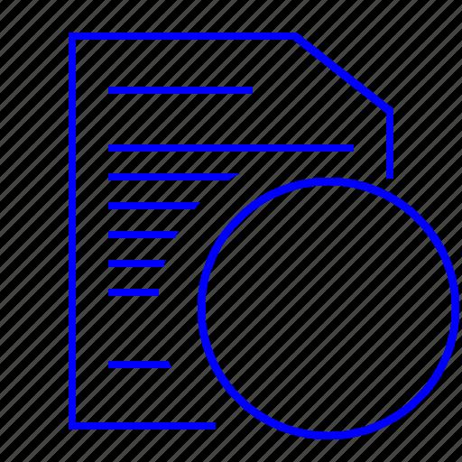 document, list, price, pricelist icon