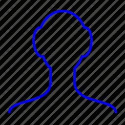 man, person, single, user icon