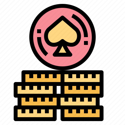 Bet, casino, chips, game, poker icon - Download on Iconfinder