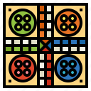 board, games, gaming, ludo, play icon