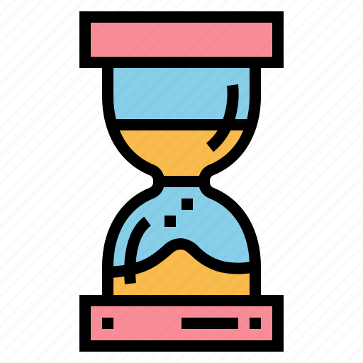 clock, hourglass, time, waiting icon