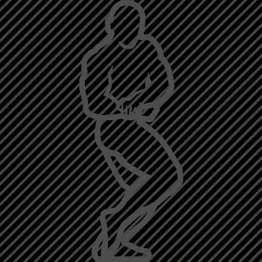 bodybuilder, bodybuilding, fitness, gym, pose, sport icon