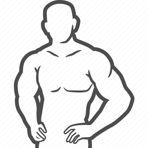 bodybuilder, bodybuilding, excercise, fitness, muscle, pose icon