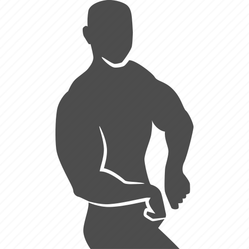 bodybuilder, bodybuilding, fitness, gym, man, muscle, pose icon