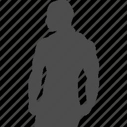 back, bodybuilder, bodybuilding, exercise, gym, muscle, training icon