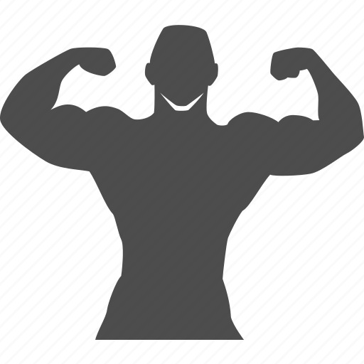 body, bodybuilder, bodybuilding, exercise, gym, muscle, training icon