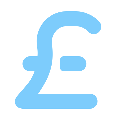 currency, exchange, money, pound icon