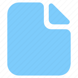 blank, data, document, file, page, text icon