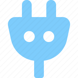 electricity, energy, plug, power icon