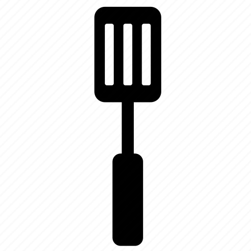 cooking, kitchen, slotted spatula, spatula, tool, utensils icon