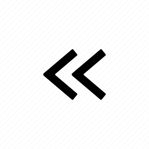 increment, rewind icon