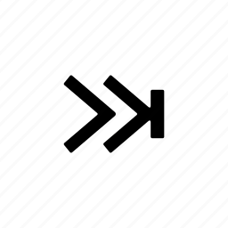 album, skip icon