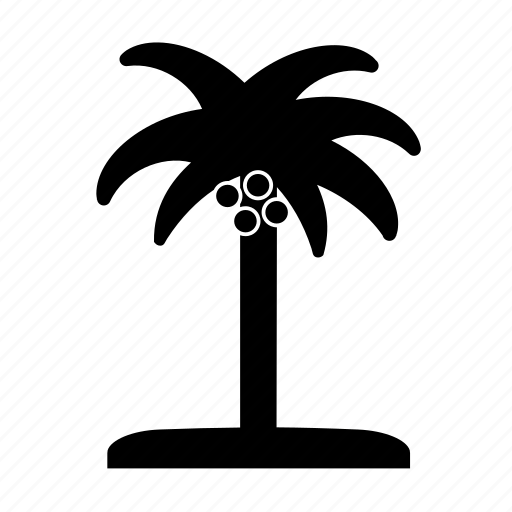 beach, coconut, coconut tree, island, palm, palm tree, summer icon