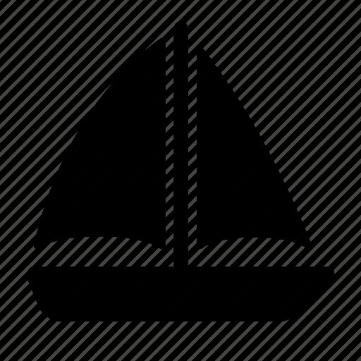 boat, sailing, ship, shipping, summer, transport, travel icon