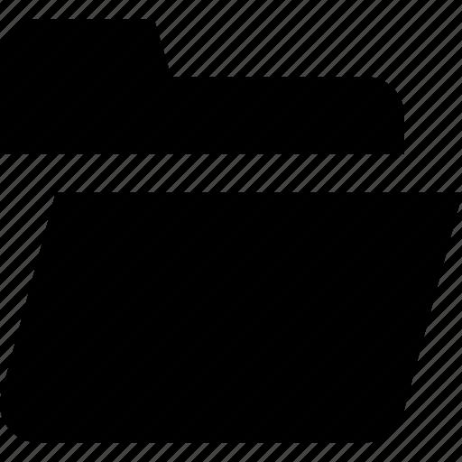document, files, folder, office, open icon