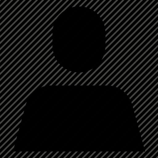 account, human, person, profile, user icon