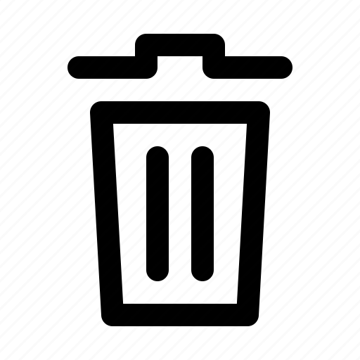 garbage, interface, software, trash, web icon