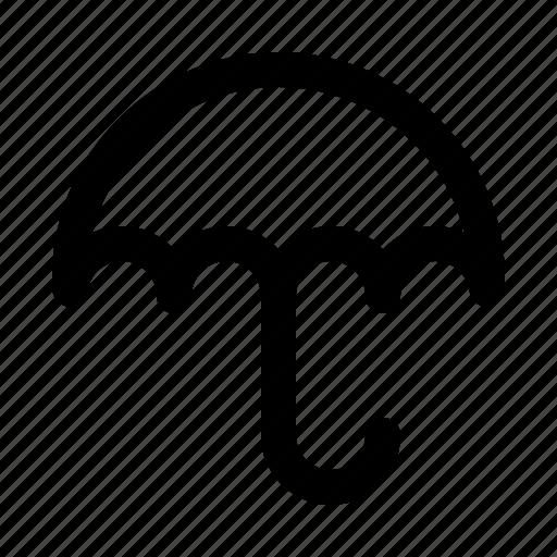 protect, rain, umbrella, water, weather icon