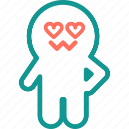 boo, ghost, halloween, heart, love, spooky icon