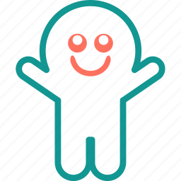 boo, ghost, halloween, smile, spooky icon