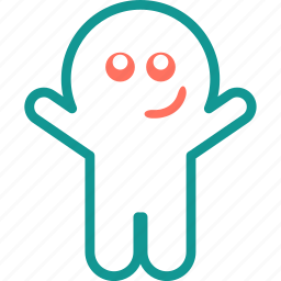 boo, ghost, halloween, irritate, spooky icon
