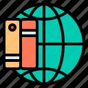 agenda, business, encyclopedia, notebook icon