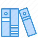agenda, business, library, notebook icon