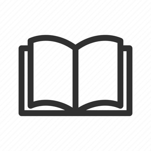 book, category, open book, reading book, shop icon