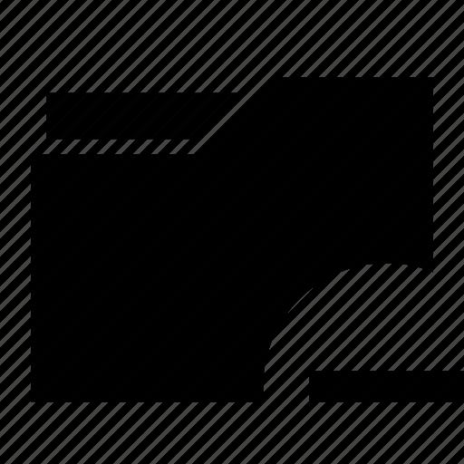file, folder, less, minus, remove icon