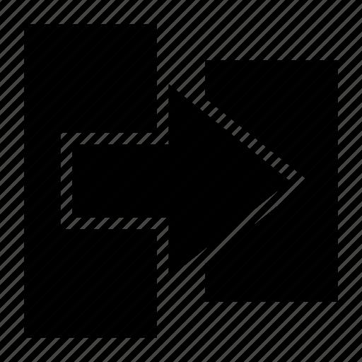 reshape, resize icon