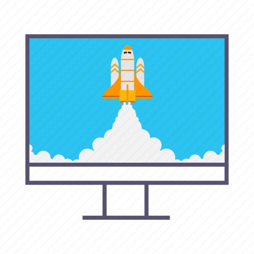 boost, business, computer, growth, launcher, marketing, rocket icon