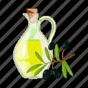 bottle, cooking, food, oil, olive, seasoning
