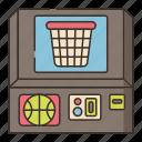 arcade, basketball, game, sport icon