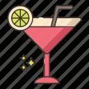 cocktails, drink, glass, wine