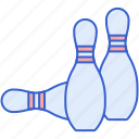 bowling, game, pins, sport