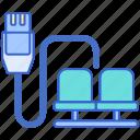 lan, lounge, network icon